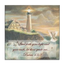 """Guide my Spirit O Lord"" Fine Art Tile Coaster"