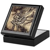 Mischievous Forrest Pixies Keepsake Box
