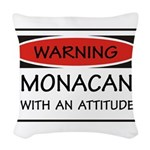 Attitude Monacan Woven Throw Pillow