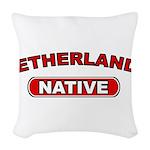 Netherlands Native Woven Throw Pillow