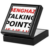 Benghazi Talking Points Lie Lie Lie Keepsake Box
