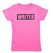 castle writer.png Girl's Tee