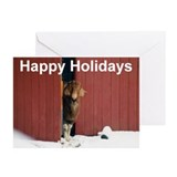 Boer Goat Holiday Greeting Cards (Pk of 10)