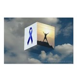 Blue Ribbon Postcards (Package of 8)