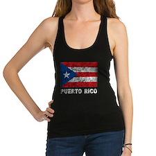Vintage Puerto Rico Racerback Tank Top