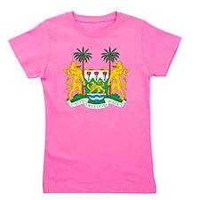 Sierra Leone Coat Of Arms Girl's Tee