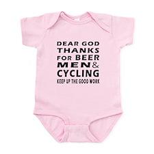Beer Men and Curling Infant Bodysuit