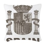 Vintage Spain Woven Throw Pillow