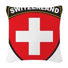 Switzerland Woven Throw Pillow