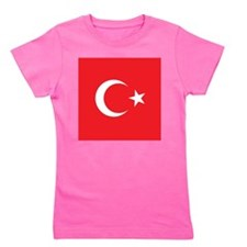 Turkey Flag Girl's Tee