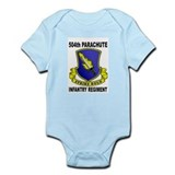 504TH PARACHUTE INFANTRY REGIMENT Infant Bodysuit