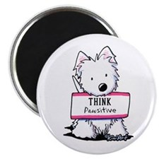 "Vital Signs: PAWSITIVE 2.25"" Magnet (100 pack)"
