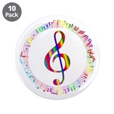 "Music in the Round 3.5"" Button (10 pack)"