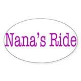 Nanas Ride Decal