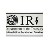 Obamas IRS Rectangle Magnet