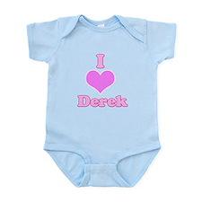 I Heart Derek Body Suit