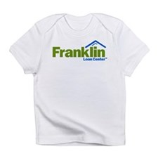 Green and Blue Simple Logo Infant T-Shirt