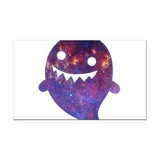 Galactic Ghost Rectangle Car Magnet