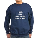 Came Saw Leave Jumper Sweater