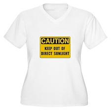 Direct Sunlight Plus Size T-Shirt