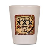Doc Holliday's Old Time XXX Shot Glass