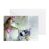POMERANIAN Greeting Cards (Pk of 10)
