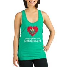Happily Married Uzbekistani Racerback Tank Top