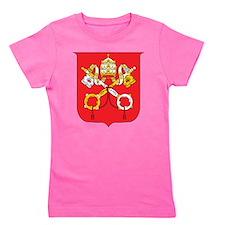 Vatican Coat Of Arms Girl's Tee