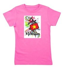 Flower Vietnam Girl's Tee