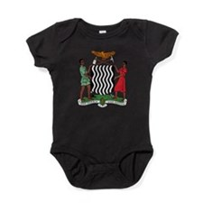 Zambia Coat Of Arms Baby Bodysuit
