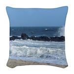 Ocean Beach Rocks Cape May Shower Curtain Woven Th