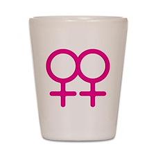 Lesbian Shot Glass