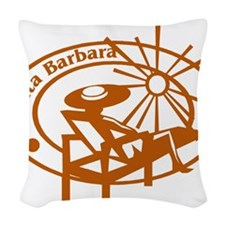 Santa Barbara Woven Throw Pillow