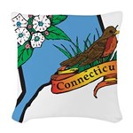 Connecticut Woven Throw Pillow