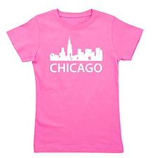 Chicago Skyline Girl's Tee