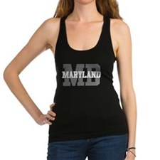 MD Maryland Racerback Tank Top