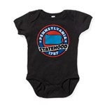 Pennsylvania Statehood Baby Bodysuit