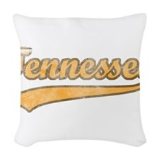 Vintage Tennessee Woven Throw Pillow