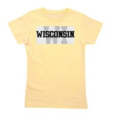 WI Wisconsin Girl's Tee