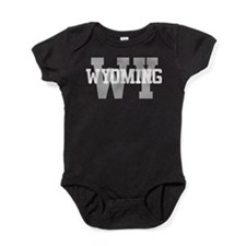 WY Wyoming Baby Bodysuit