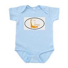 I'm a Little Tony Kornheiser Sticker Infant Bodysu