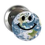 Happy earth smiley face 2.25