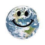 Happy earth smiley face 3.5