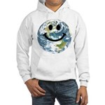 Happy earth smiley face Jumper Hoody