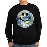 Happy earth smiley face Jumper Sweater