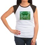 Olmec Were Jaguar  Women's Cap Sleeve T-Shirt