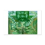 Olmec Were Jaguar  Mini Poster Print