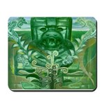 Olmec Were Jaguar  Mousepad