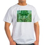 Olmec Were Jaguar  Ash Grey T-Shirt