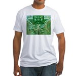 Olmec Were Jaguar  Fitted T-Shirt